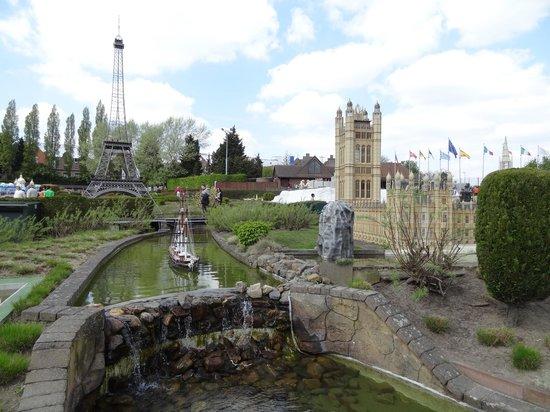 Mini-Europe: Экспонаты парка