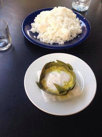Cambodia Cooking Class: fish amok