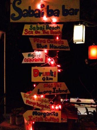 Sabai Ba Bar : Sabai bar bar