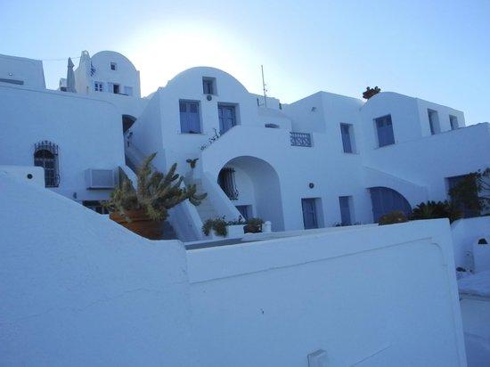Hotel Sunny Villas: Sicht auf das Hotel