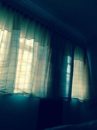 Syresham, UK: Curtains
