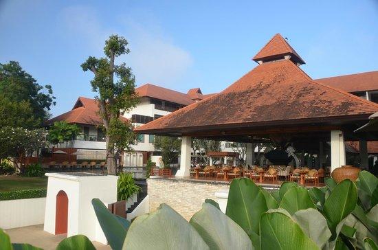 Ratilanna Riverside Spa Resort Chiang Mai : pool area