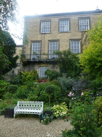 Millgate House: view from the garden