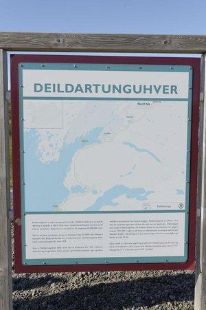 Steindorsstadir Guesthouse: Deildartunguhver thermal spring