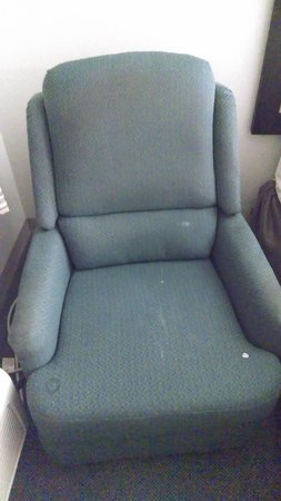 Extended Stay America - Amarillo - West: the stained chair with bugs