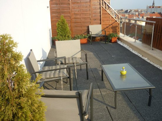 Medosz Hotel: terrace