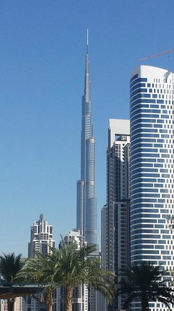 JW Marriott Marquis Hotel Dubai : View from the Pool
