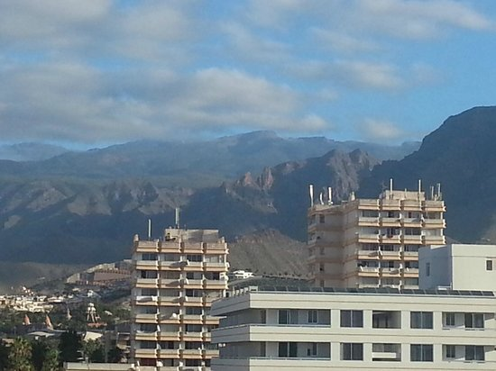 Hotel Best Tenerife: veiw from one of the rooms