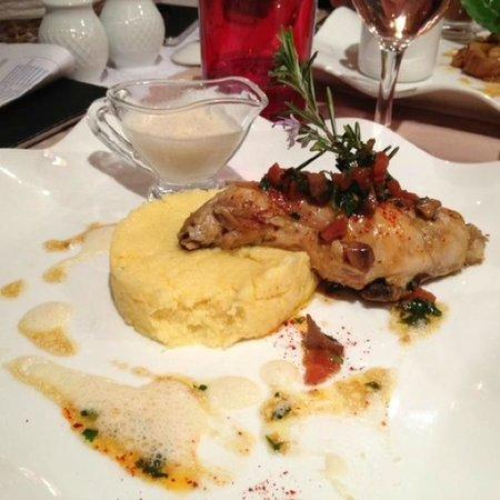 Restaurant La Treille Muscate : Кролик