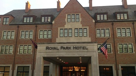 Royal Park Hotel: Hotel appearance