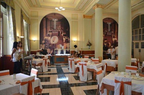 Hotel Telegrafo: ресторан