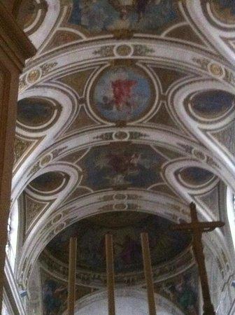 Église Saint-Roch : voute céleste