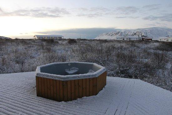 Hotel Grimsborgir : View from hot tub