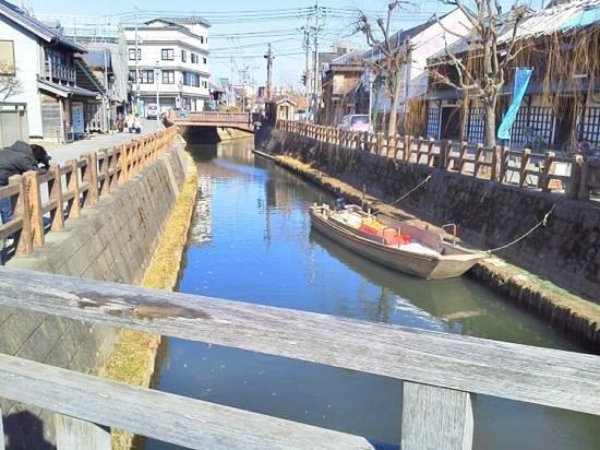 Historic Old Town along Onogawa River : 水郷佐原