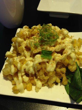 Aisuru Sushi: Sweet corn tempura