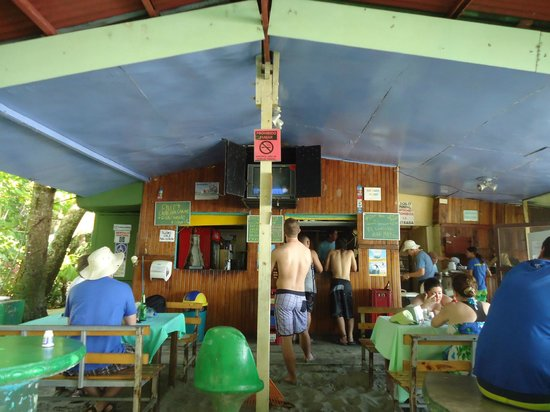 Balu's Beach Bar: el restaurante