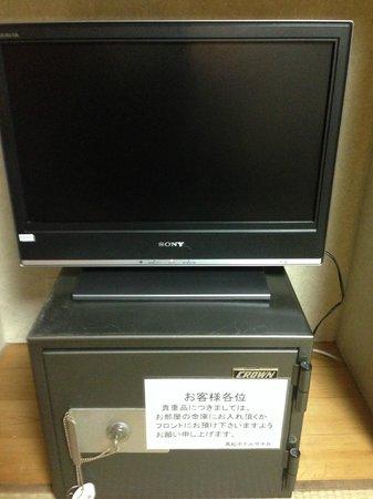 Takamatsu Hotel Sakika: Television and safe