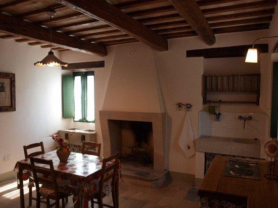 Province of Fermo, Italy: Agriturismo nelle Marche - cucina dell'appartamento Alba Rosa