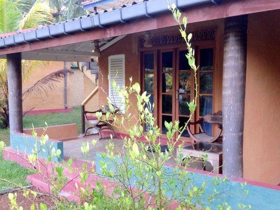Mangrove Villa: Терраска номера