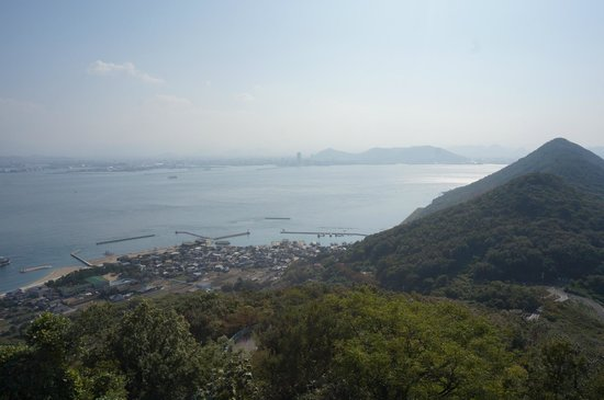 Megijima Island: View from near the caves