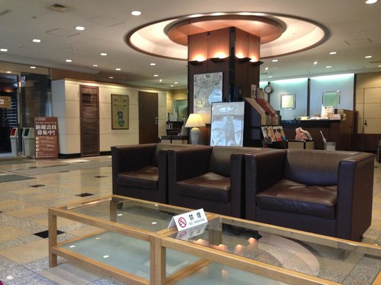 Shinbashi Atagoyama Tokyu REI Hotel : Lobby