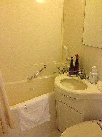 Shinbashi Atagoyama Tokyu REI Hotel : Cube bathroom