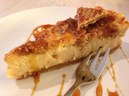 Cheesecake Company : Stroopwafel (Caramel Waffle) cheesecake. Awesome..