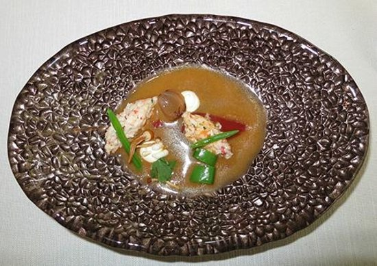 Savelberg: A very tasty crab with thai soup