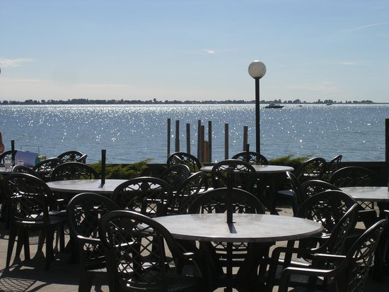 Fair Haven, MI: The patio in mid-October