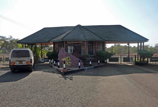 Ikweta Safari Camp: Entrance of Meru National Park