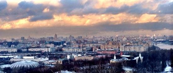 Korston Club Hotel Moscow: moscow view