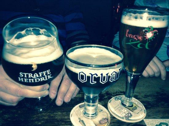 L'Estaminet : Bierkaart