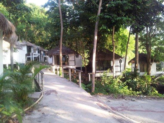 Siam Beach Resort: дорога к бунгало