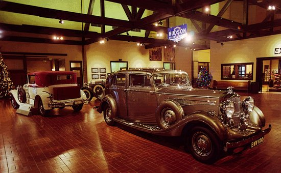 Gilmore Car Museum: Special temporary exhibit of bespoke Hudsons and a Railton