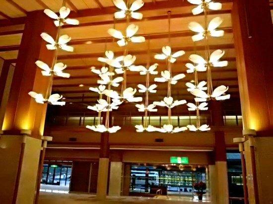 Hotel Hanamizuki: ロビーの飾りがキレイ