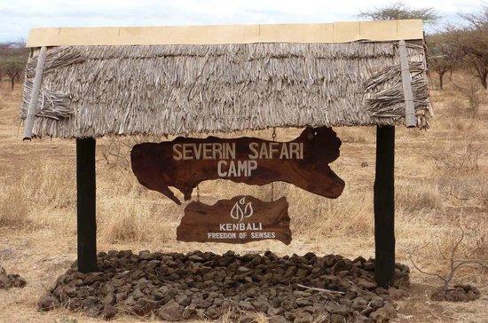 Severin Safari Camp: Entrance the camp