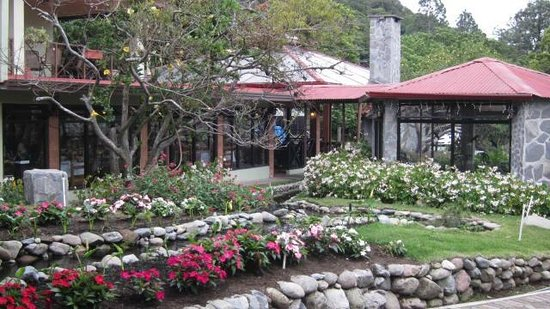 El Oasis Hotel & Restaurant: El Oasis Hotel and Restaurant Courtyard
