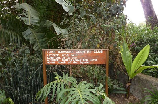 Lake Naivasha Country Club-Sun Africa Hotels : interesting sign