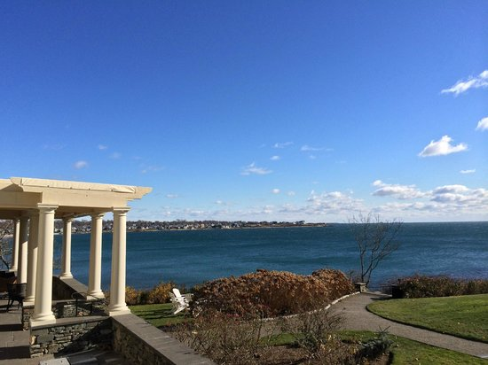 The Chanler at Cliff Walk: View from patio