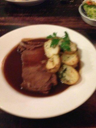 Nant Ddu Lodge Restaurant: Beef brisket