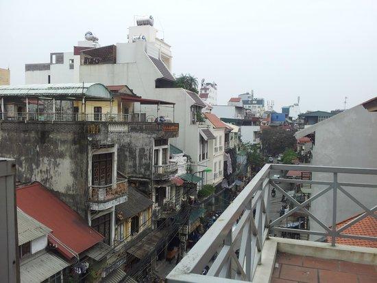 Hanoi Eclipse Hotel: вид с 3 этажа