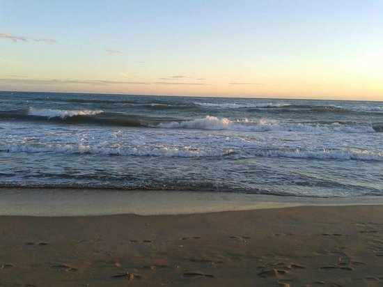 Playa de Calafell: Tranquilidad