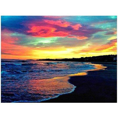 Playa de Calafell: Atardecer