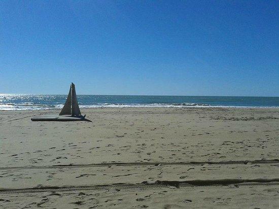 Playa de Calafell: Paz
