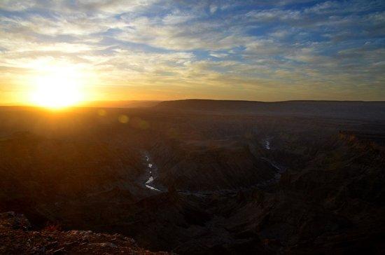 Canyon Roadhouse: Sonnenuntergang über dem Fish River Canyon