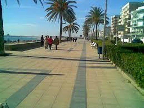 Playa de Calafell: paseo 4