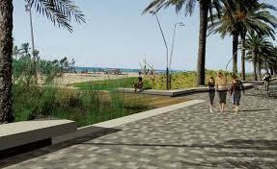 Playa de Calafell: Asi sera el futuro paseo marítimo