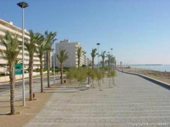 Playa de Calafell: Paseo 1