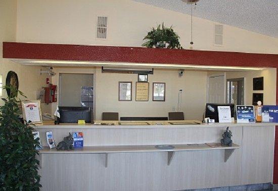 Knights Inn Punta Gorda : front lobby