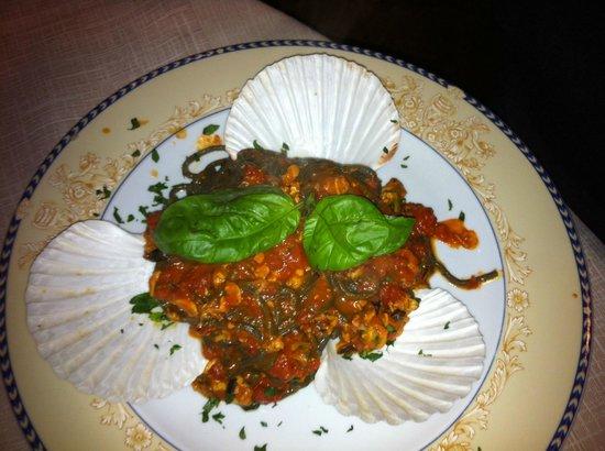 Il Ristorantino di Bayon: spaghetti al nero